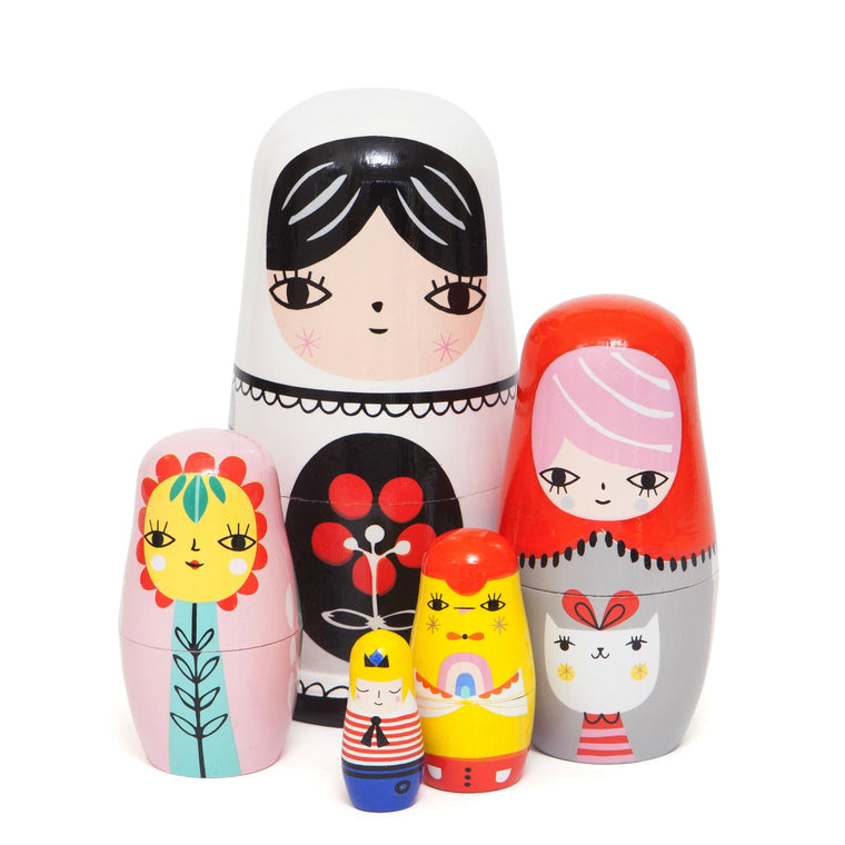 Fleur and Friends Nesting Dolls