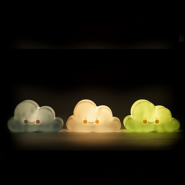 Petit Monkey - Cloud Night Light Mint