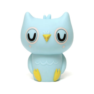 Owl Night Light Baby Blue by Petit Monkey - minifili
