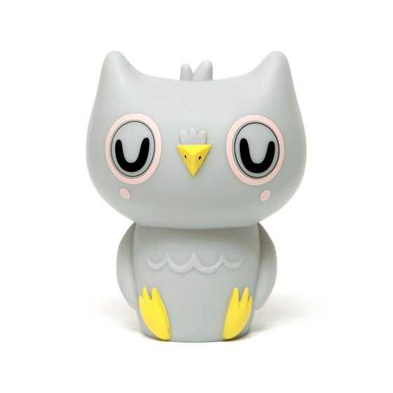 Owl Night Light Grey
