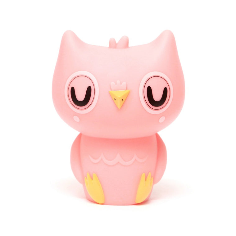 Owl Night Light Pink
