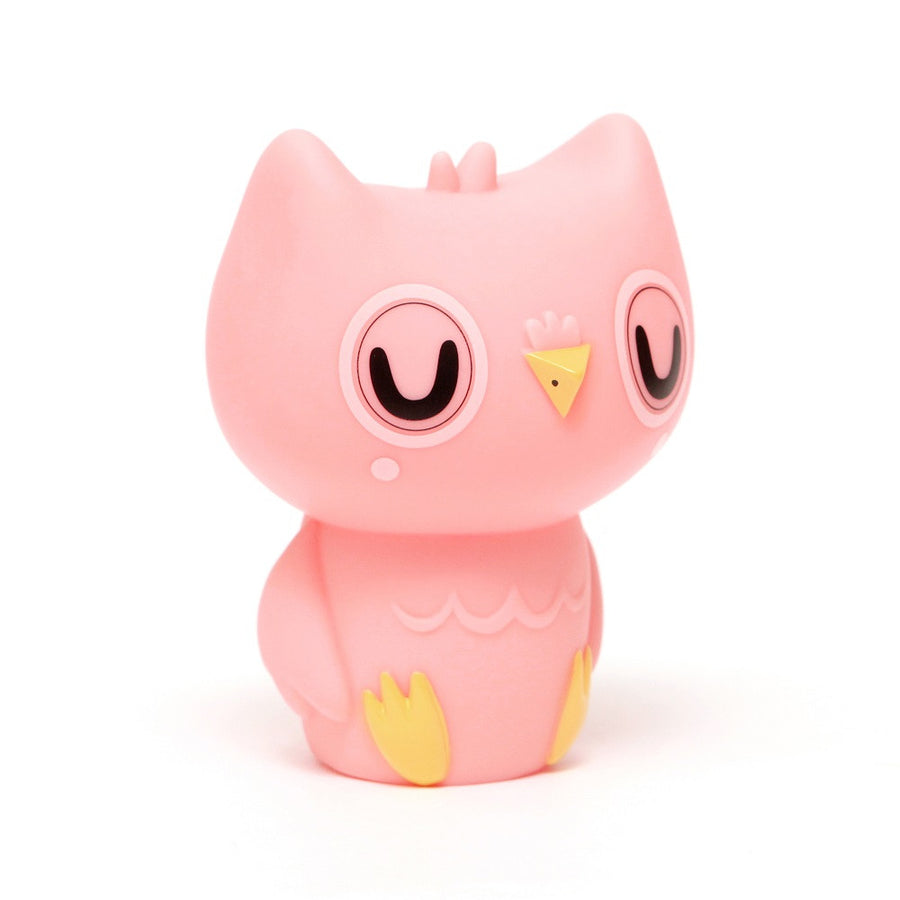 Owl Night Light Pink by Petit Monkey - minifili