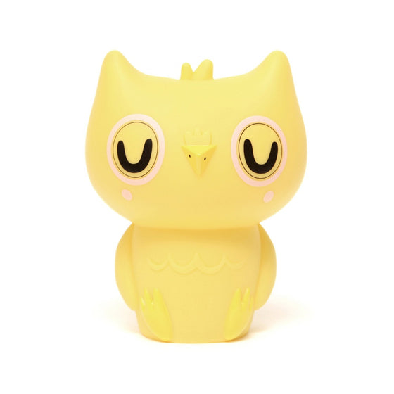 Owl Night Light Yellow