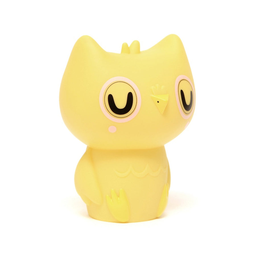 Owl Night Light Yellow by Petit Monkey - minifili