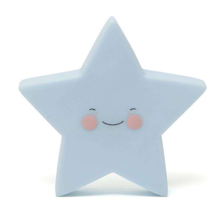 Star Night Light Blue