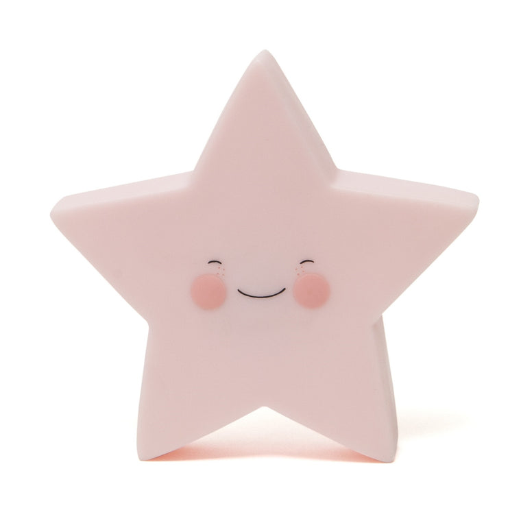 Star Night Light Pink