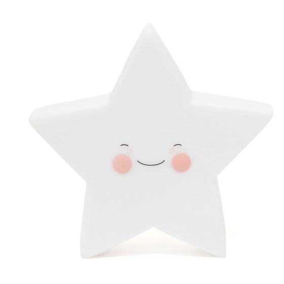Star Night Light White