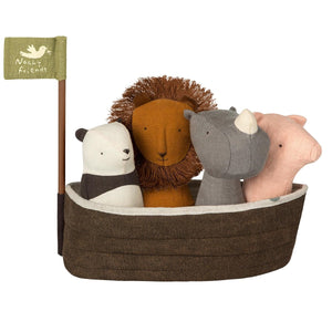 Noah's Ark with 4 Rattles by Maileg - minifili