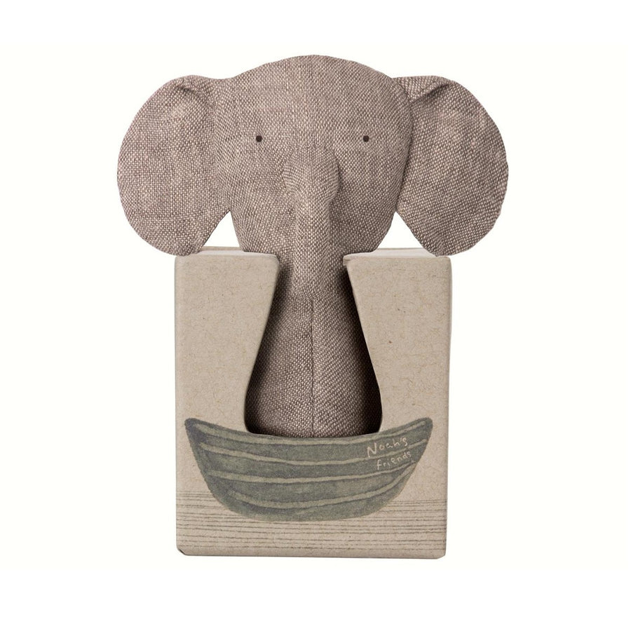 Noah's Friends Elephant Rattle by Maileg - minifili
