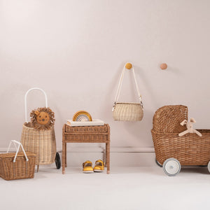 Luggy Basket Straw by Olli Ella - minifili