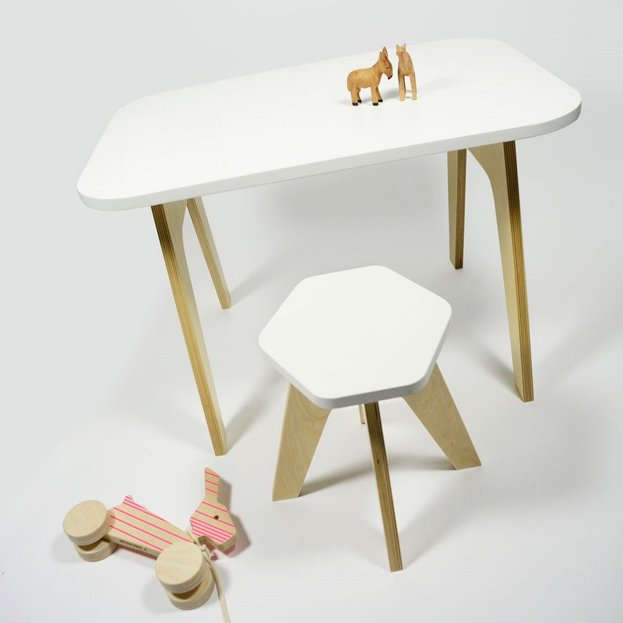 Milk Stool Snow White by Studio delle Alpi - minifili