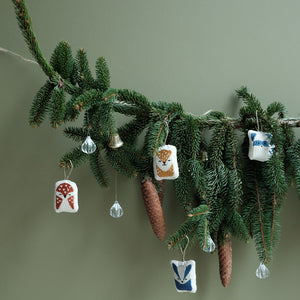 Woodland Animals Tree Decorations by Fabelab - minifili