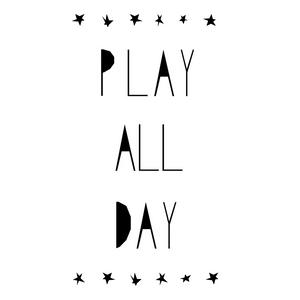 Play All Day Print by Ingrid Petrie Design - minifili