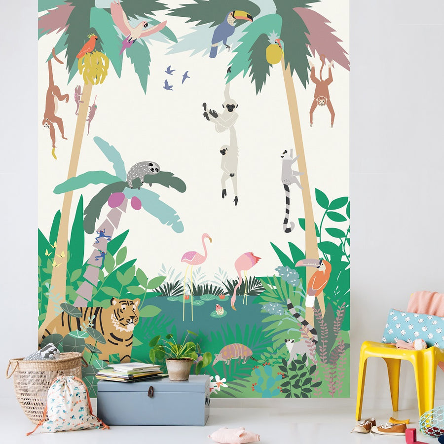 Jungle Wall Panel by Mimi'lou - minifili