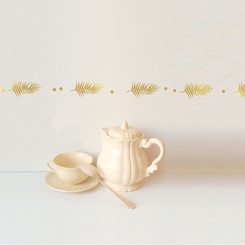 Golden Palm Wall Decal