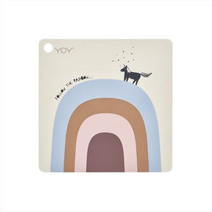 Follow the Rainbow Placemat by OYOY Mini - minifili