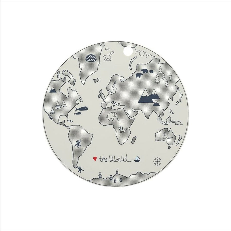 The World Placemat by OYOY Mini - minifili