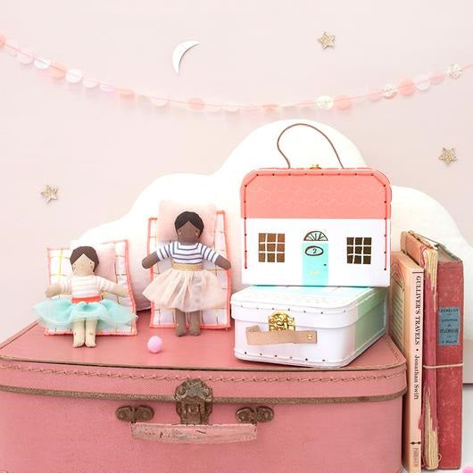 Mini Lila Doll Suitcase by Meri Meri - minifili