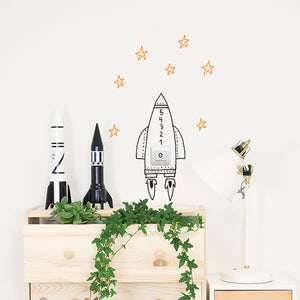 Switch Rocket Wall Decal by Chispum - minifili
