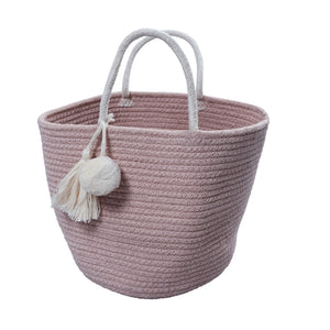 Rope Basket Mauve by Fabelab - minifili
