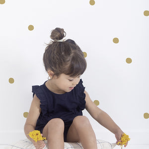 Golden Dots Wall Decal by Lilipinso - minifili