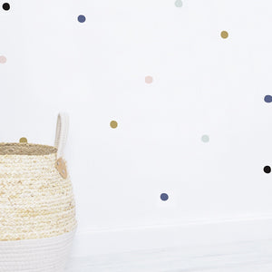 Blue Dots Wall Decal by Lilipinso - minifili