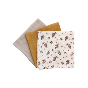 Muslin Cloth Meadow (set of 3) by Main Sauvage - minifili