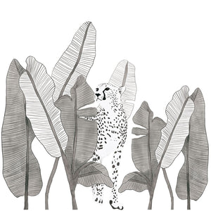 Leopard Giant Wall Sticker by Lilipinso - minifili