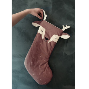 Animal Stocking Sleepy Deer by Fabelab - minifili