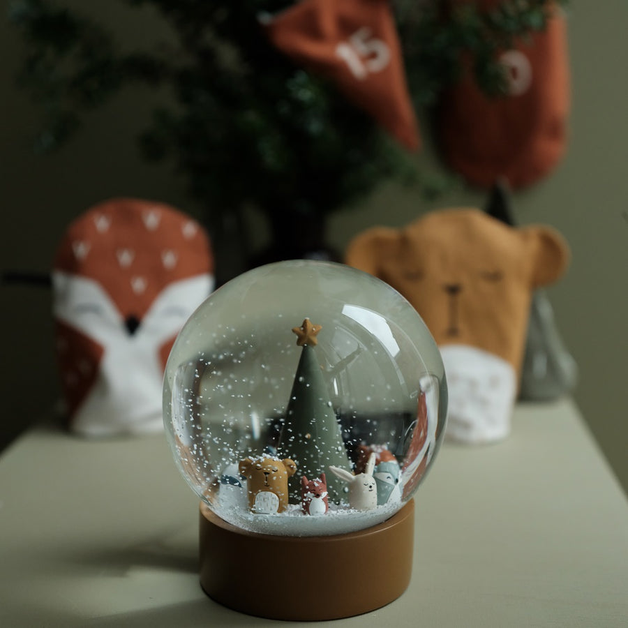 Woodland Animals Snow Globe by Fabelab - minifili