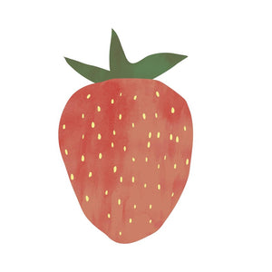 Strawberry Print by Kid of the Village - minifili