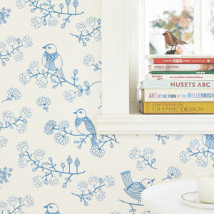 Sugar Tree Wallpaper Lovely Blue by Majvillan - minifili