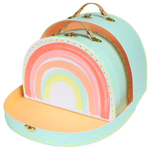 Rainbow Suitcase Set by Meri Meri - minifili