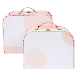 Pink Suitcase Set by Meri Meri - minifili