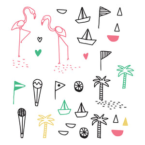 Summer Day Wall Sticker by Chispum - minifili