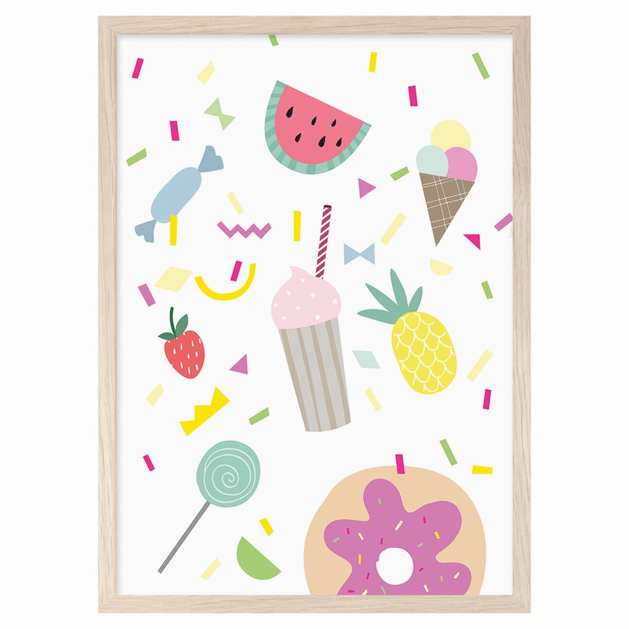 Sweet Day Print by Mini Learners - minifili