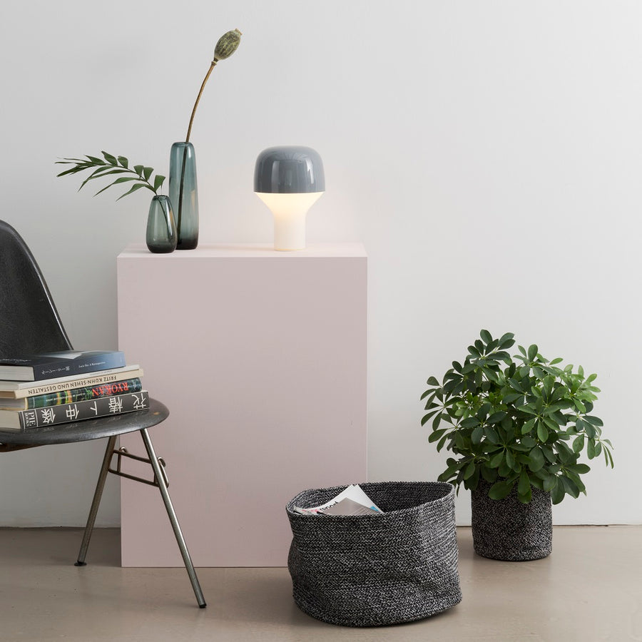 CAP Table Lamp Grey by TEO - minifili