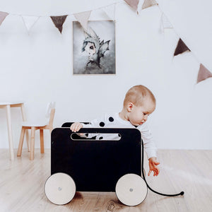 Toy Chest on Wheels Blackboard by ooh noo - minifili