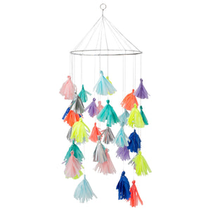 Bright Tassel Chandelier by Meri Meri - minifili