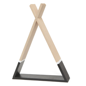 Tipi Shelf Black by Petit Monkey - minifili