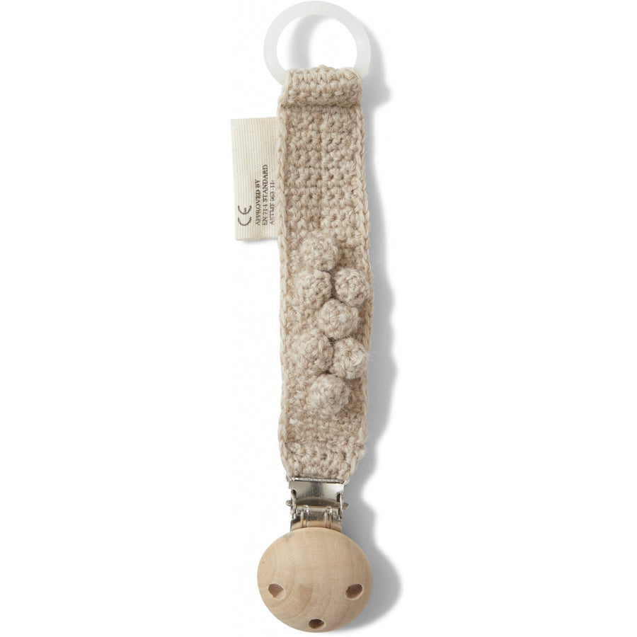 Pacifier/Dummy Strap Creamy White by Konges Slojd - minifili