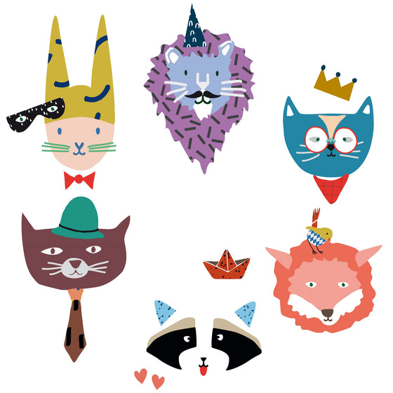 Animal Party Wall Decal
