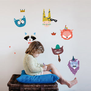Animal Party Wall Decal by MIMI'lou - minifili
