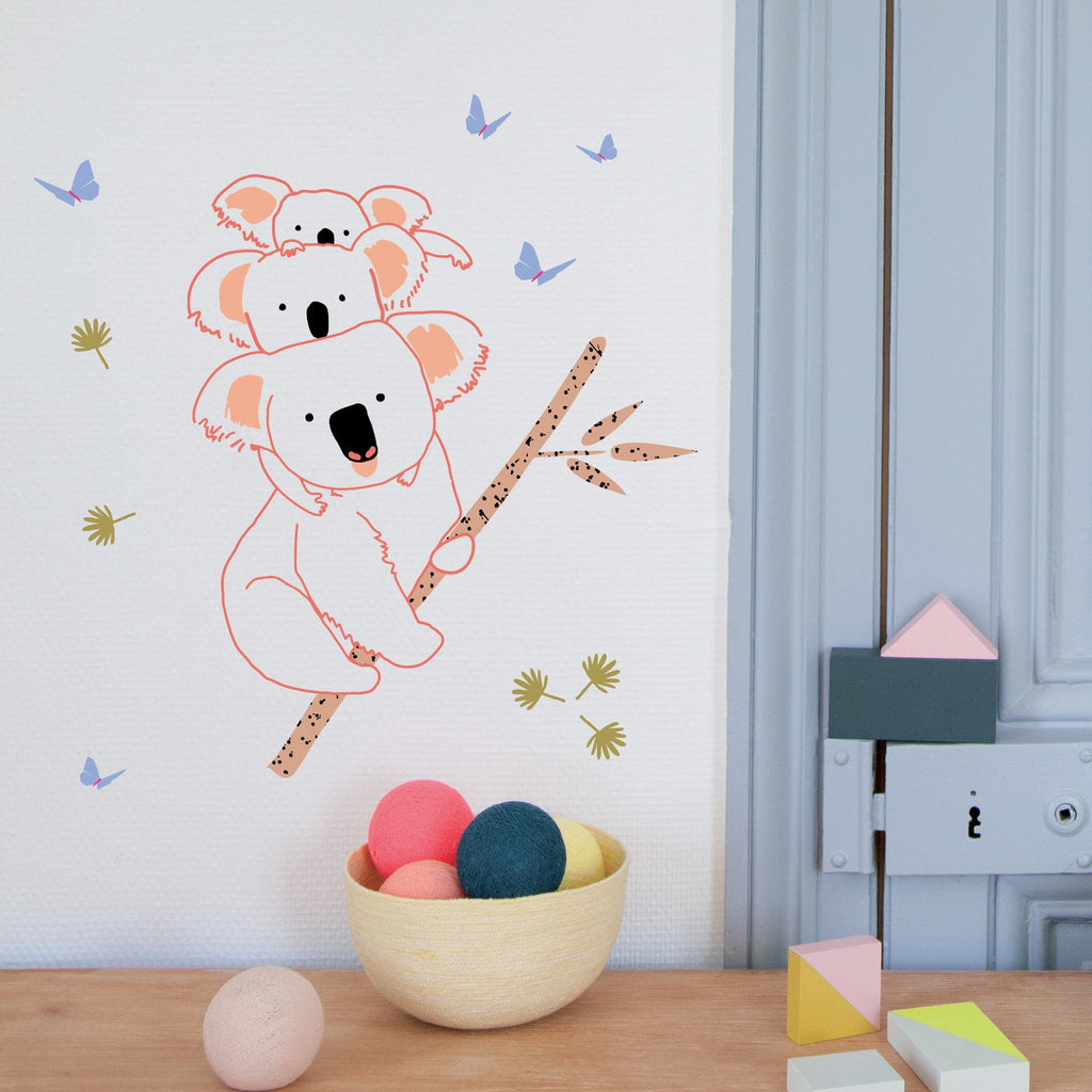 MIMI'lou - Koala Family Wall Decal