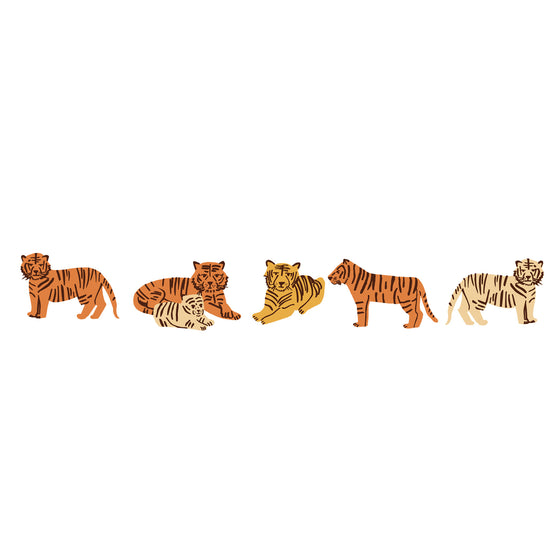 Tigers Wall Decal
