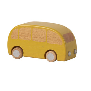 Wooden Bus Yellow by Maileg - minifili