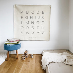 ABC Floor Mat / Wall Hanging by Gathre - minifili