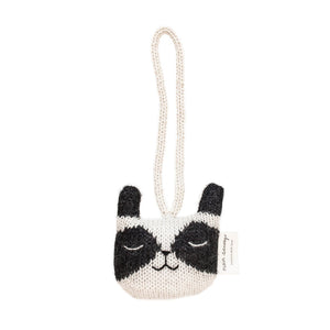 Raccoon Hanging Toy by Main Sauvage - minifili
