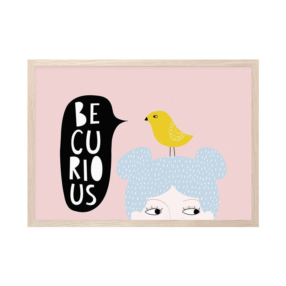 Mini Learners - Be Curious Print