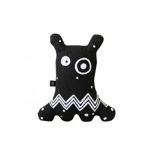 Big-eyed Monster Cushion Black by ooh noo - minifili